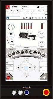 Negri Bossi Motus Multi touch controller