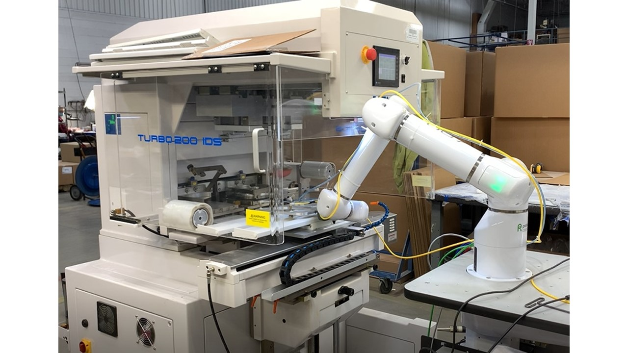 Cobot and Pad Printing Service